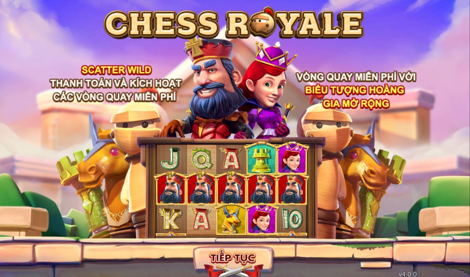 Game slot Chess Royale - vận may đến từ những quân cờ vua và tận hưởng niềm vui chiến thắng trên mỗi vòng quay