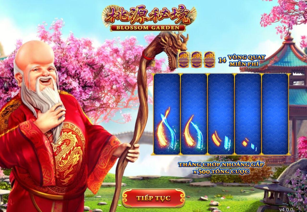 Slot game Blossom Garden