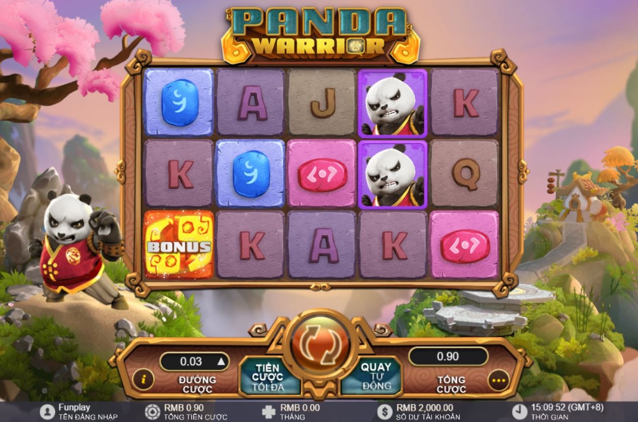Chiến binh gấu trúc cơ hội hốt bạc tỉ cho người chơi