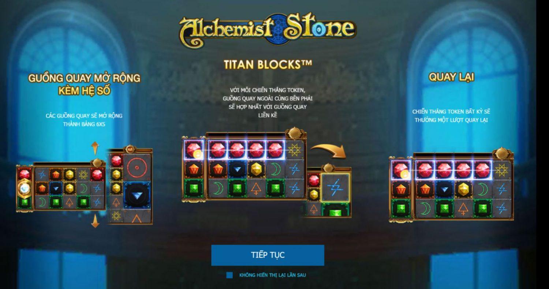 Alchemist Stone – Đá giả kim may mắn