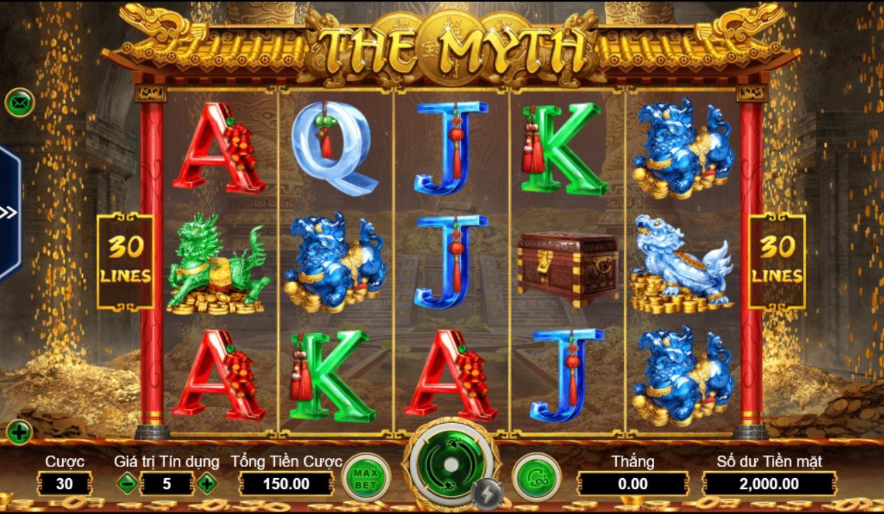 The Myth - huyền thoại từ một trò chơi nổ hũ online