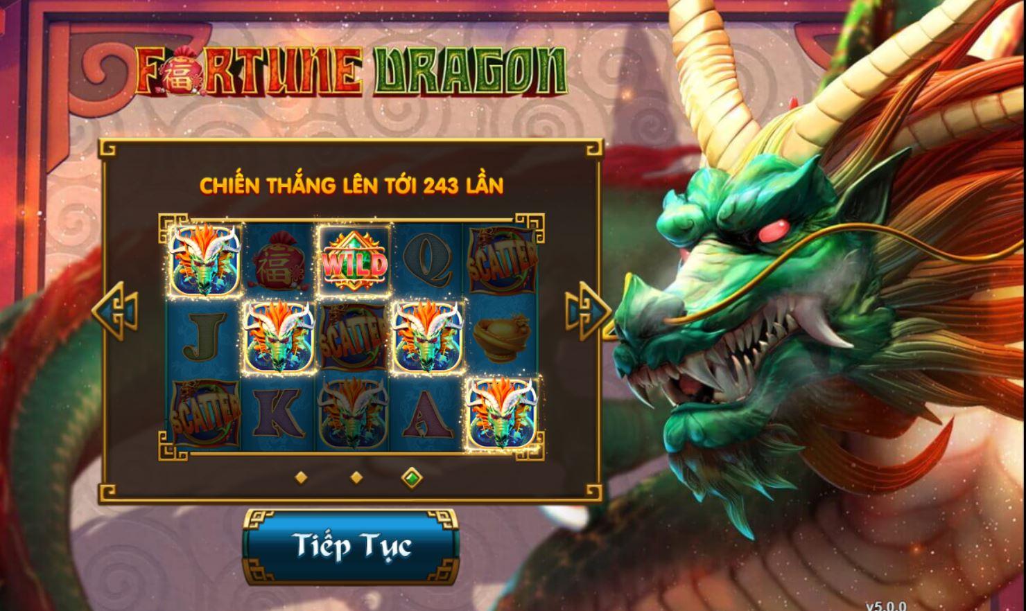 Game quay hũ Fortune Dragon