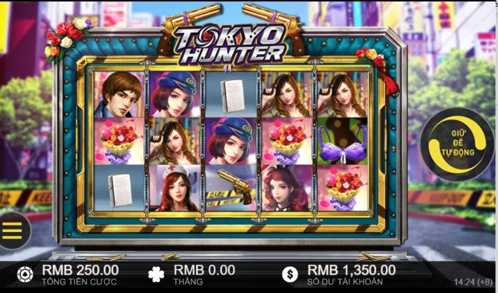 Hướng dẫn cách chơi chi tiết game quay hũ Tokyo Hunter