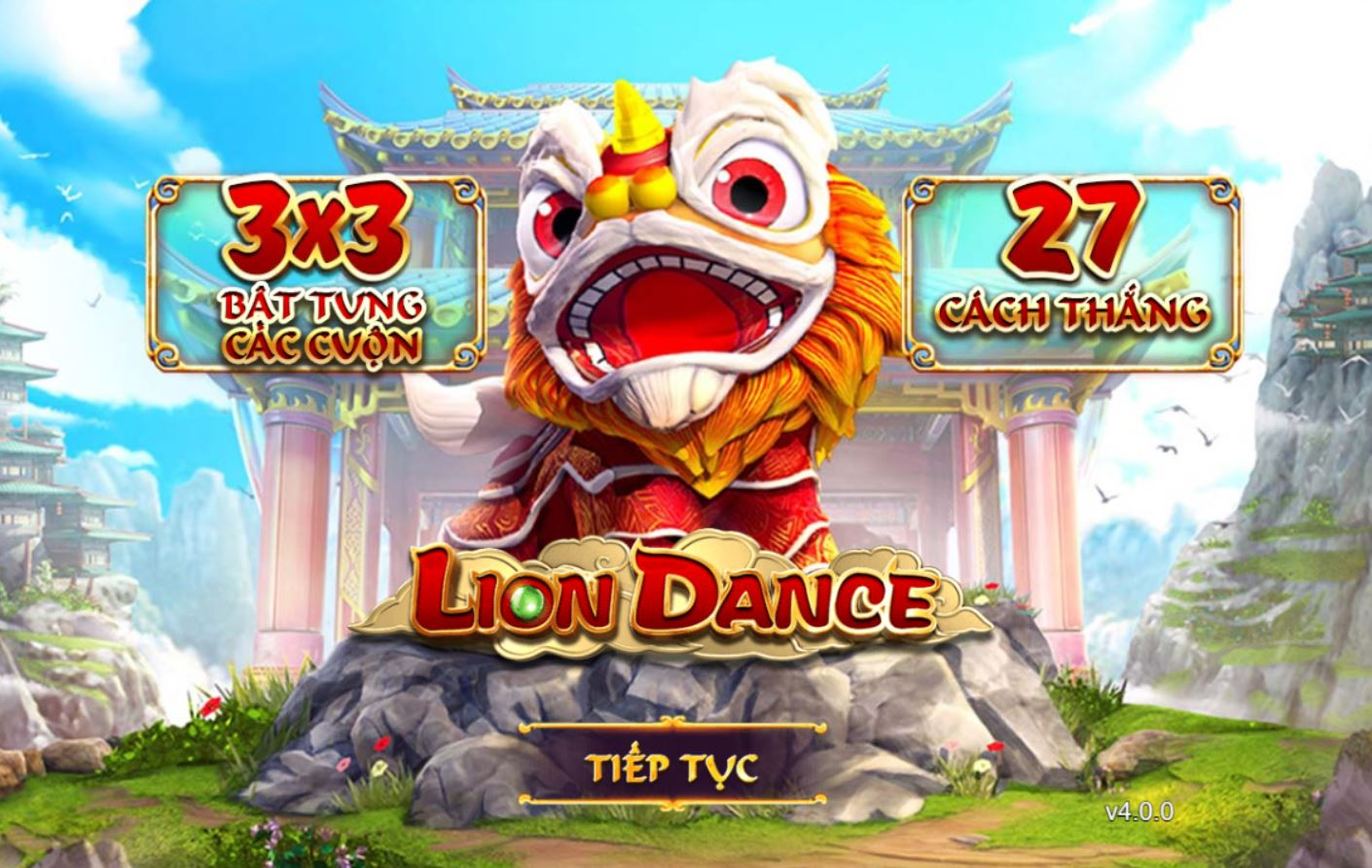 Giới thiệu game quay hũ Lion Dance - Múa lân