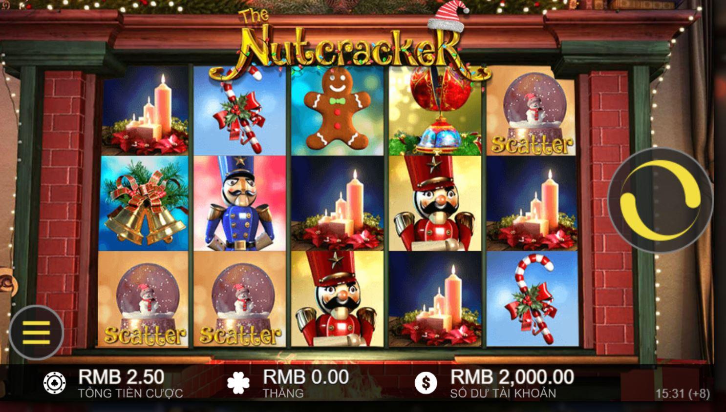 Hướng dẫn chơi game quay hũ đỉnh cao The Nutcracker