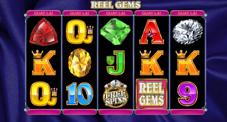 Giới thiệu cách chơi game quay hũ Reel Gems - Vòng quay đá quý
