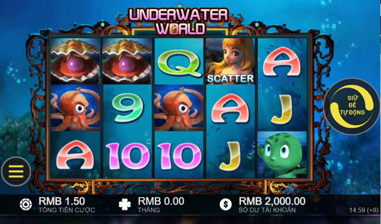 Review game quay hũ Underwater World - Khám phá thế giới đại dương