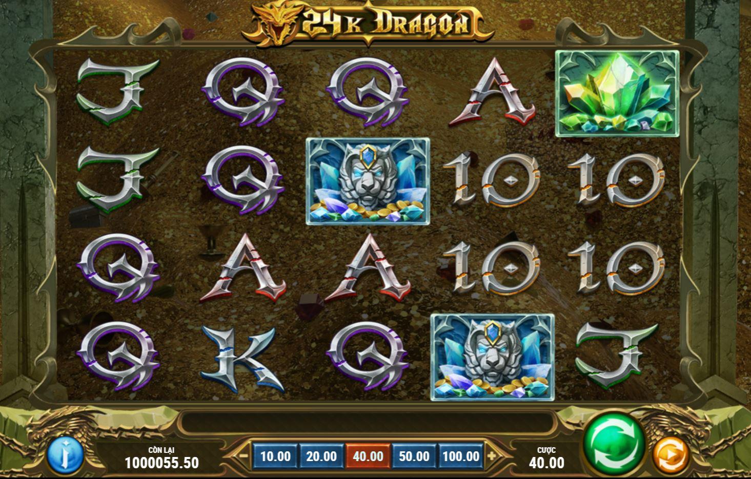 Review trải nghiệm cách chơi và những tính năng của 24K Dragon - Rồng vàng