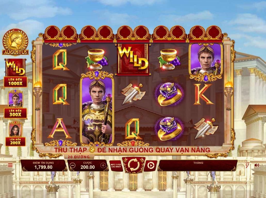 Hướng dẫn chơi game quay hũ Augustus với nhiều tính năng hấp dẫn
