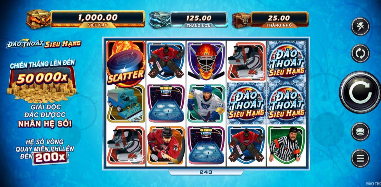 Hướng dẫn chơi game quay hũ Break Away Ultra - Cuộc đào thoát siêu hạng