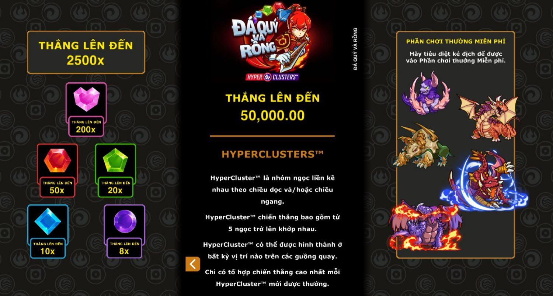Review những tính năng đặc biệt và cách chơi Gems & Dragons
