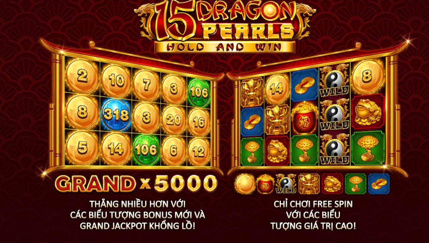 15 Dragon Pearls - Thu thập 15 viên ngọc rồng