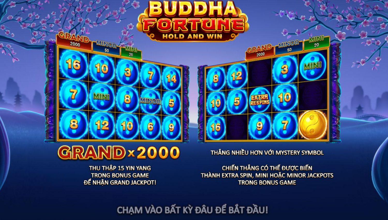 Giới thiệu game quay hũ Buddha Fortune - Sự trở lại của Buddha