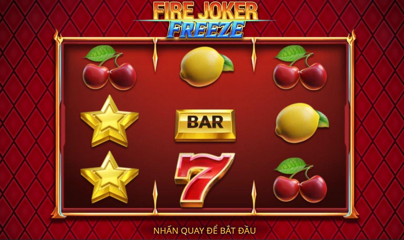 Giới thiệu tính năng game quay hũ Fire Joker Freeze - Chú hề lửa băng