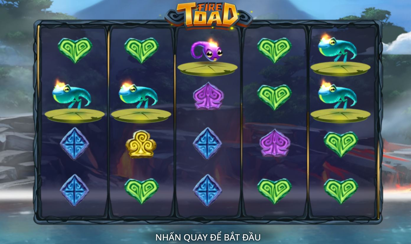 Hướng dẫn cách chơi game quay hũ Fire Toad - Cóc lửa