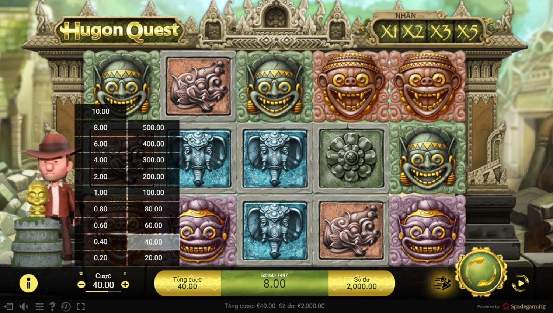 Review game quay hũ Hugon Quest - Nhiệm vụ của Hugon