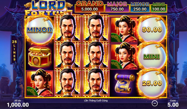Giới thiệu tính năng và cách chơi game Lord Fortune - Chúa tể may mắn