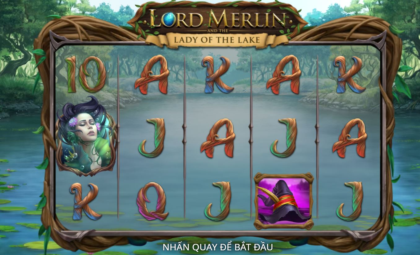 Giới thiệu game quay hũ Lord Merlin - Chúa tể Merlin