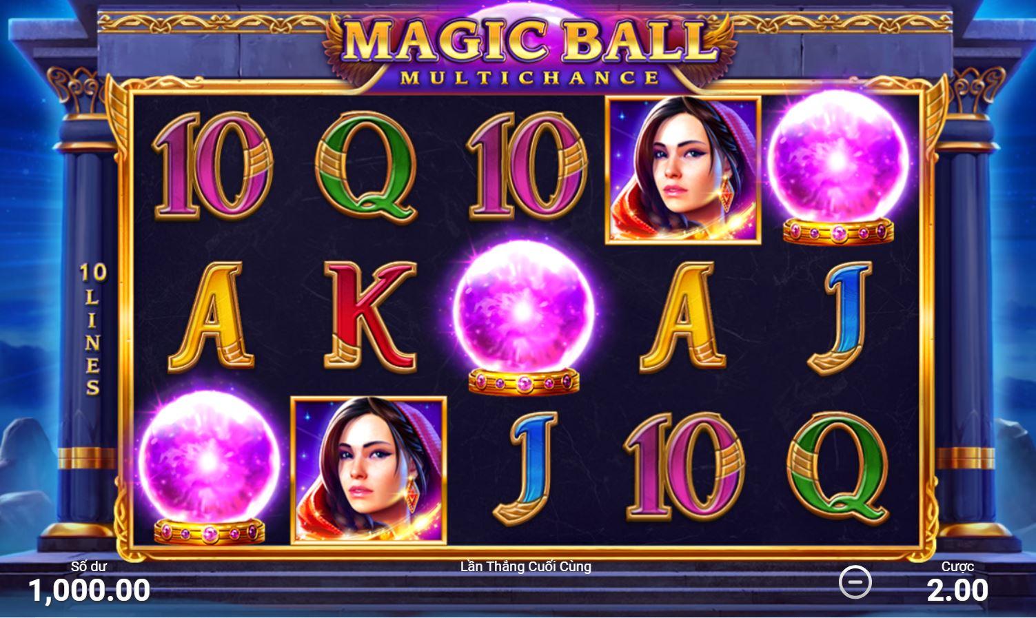 Review những tính năng đặc biệt trong game quay hũ Magic Ball - Quả bóng ma thuật