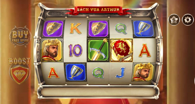 Review game quay hũ kinh điển Book of King Arthur - Sách của vua Arthur