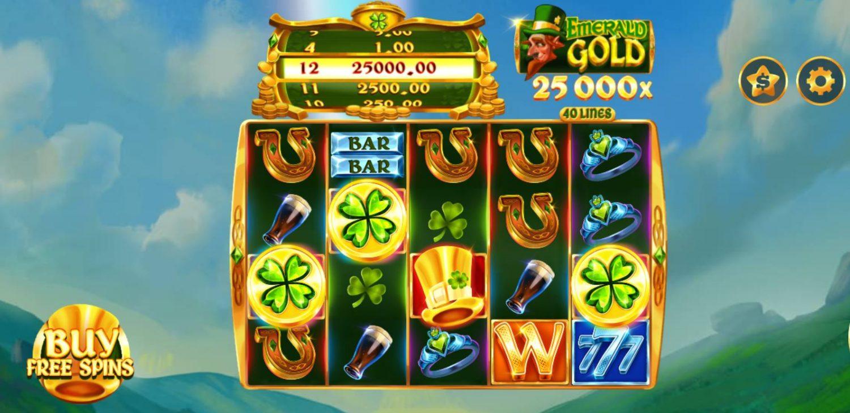 Review game quay hũ kinh điển Emerald Gold - Ngọc lục bảo vàng