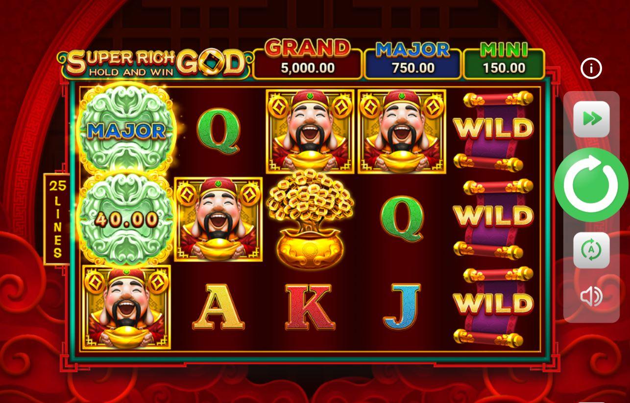 Review game quay hũ Super Rich God - Vị thần giàu sang