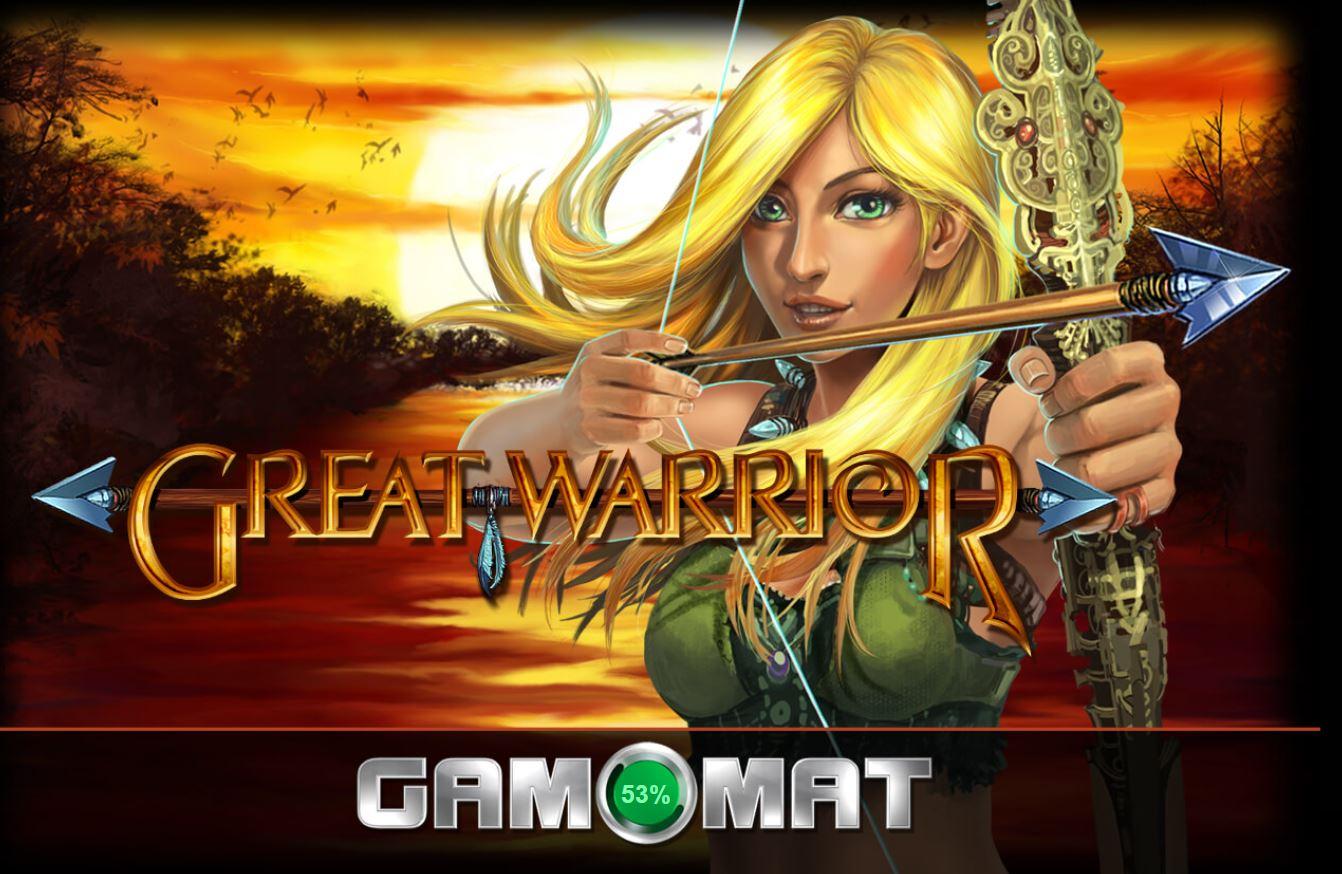 Tham khảo cách chơi game quay hũ Great Warrior - Công chúa chiến binh
