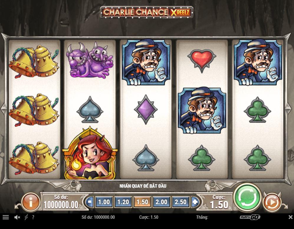 Review game quay hũ Charlie Chance - Cơ hội giàu có đến từ Charlie