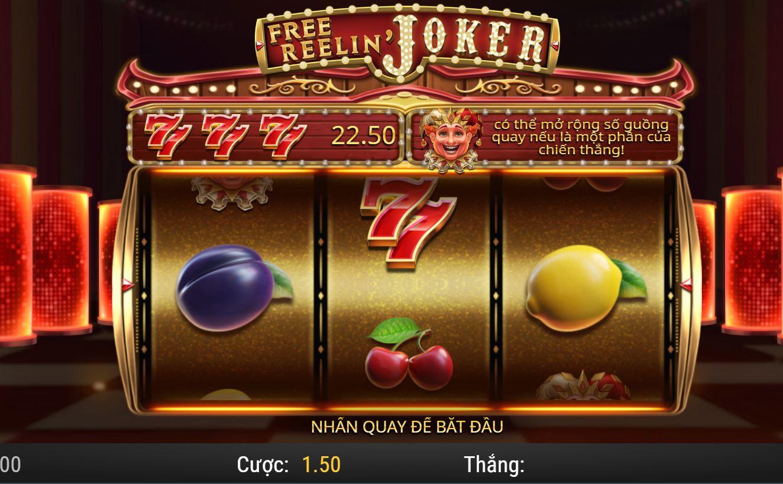 Review game quay hũ Free Reelin' Joker - Vòng quay miễn phí từ Joker