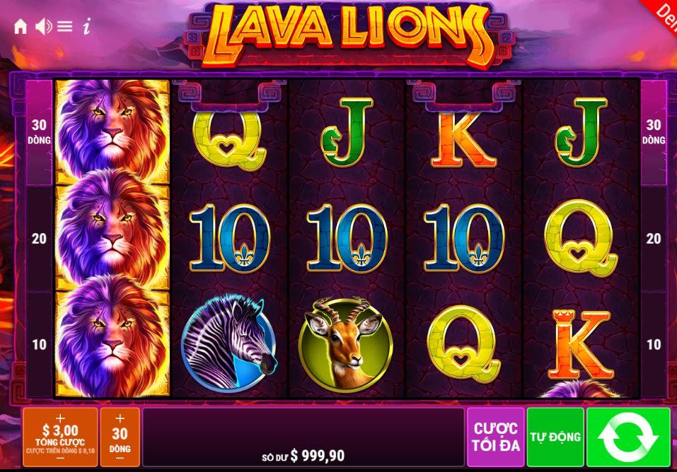 Hướng dẫn cách chơi Lava Lions - Sư tử dung nham