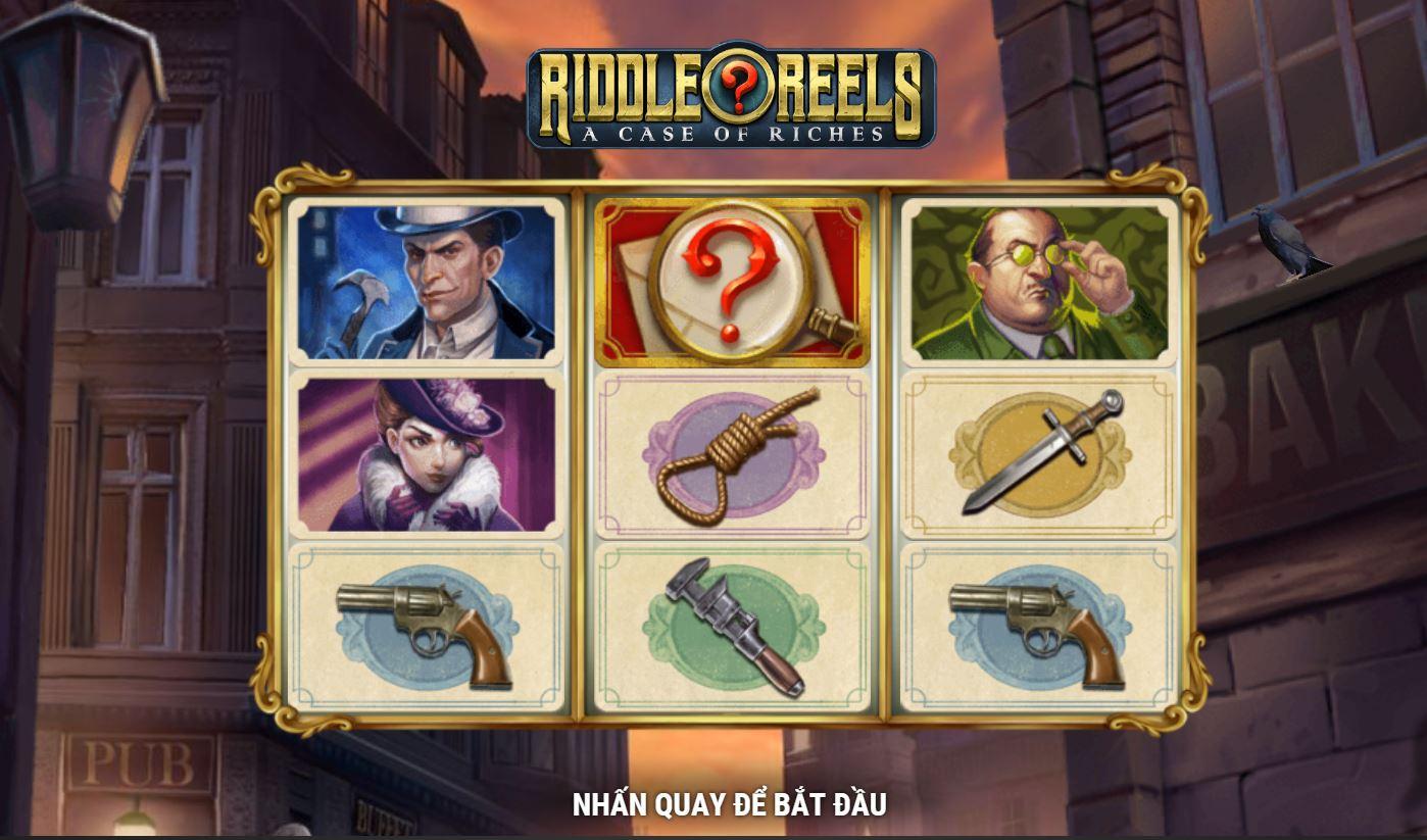 Game quay hũ Riddle Reels: A Case of Riches - Câu chuyện của sự giàu có