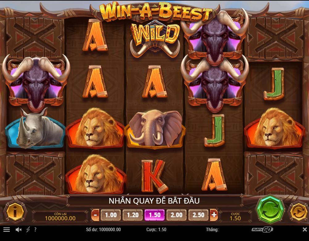 Review game quay hũ kinh điển Win-A-Beest - Chiến thắng tối đa