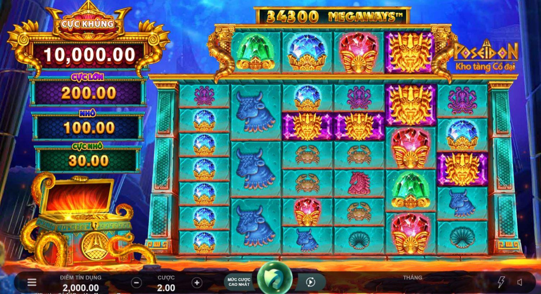 Giới thiệu game quay hũ Ancient Fortunes - Kho báu cổ đại