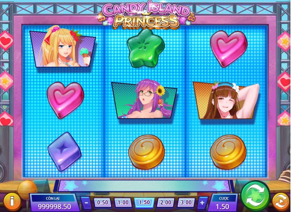 Game quay hũ Candy Island Princess - Cuộc phiêu lưu cùng công chúa đảo kẹo ngọt