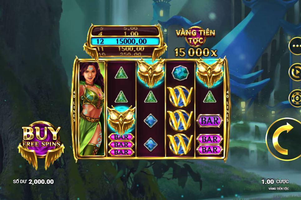 Review tính năng game quay hũ Elven Gold - Vàng tiên lộc Elven