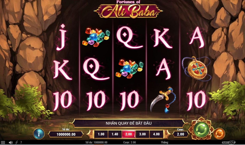 Game quay hũ Fortunes of Ali Baba - Vận may của chàng Alibaba